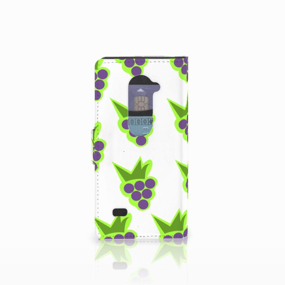 LG Leon 4G Book Cover Druiven