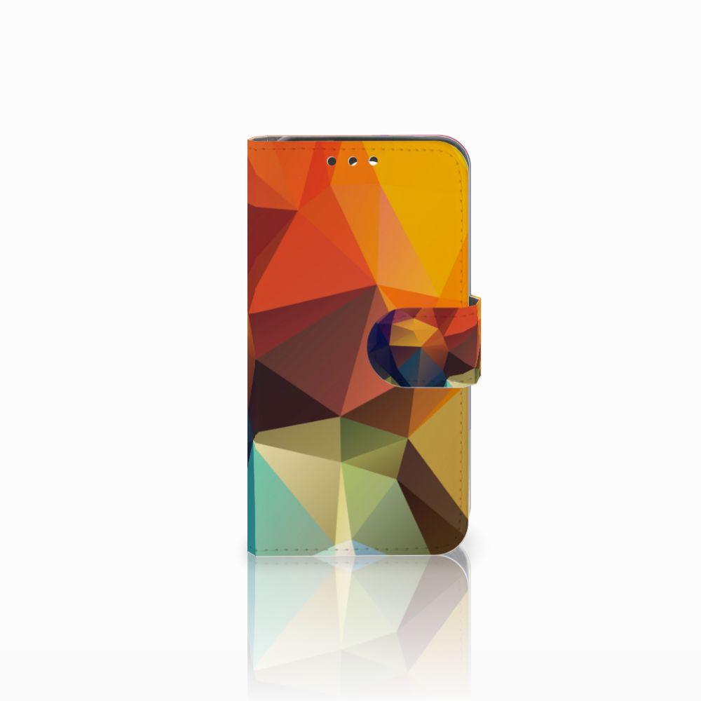 Huawei Y5 Y560 Boekhoesje Design Polygon Color