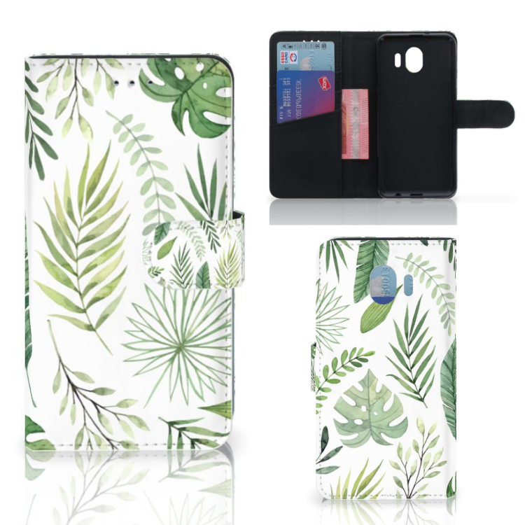 Samsung Galaxy J4 2018 Hoesje Leaves