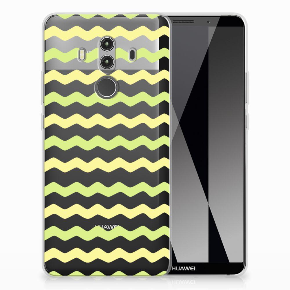 Huawei Mate 10 Pro TPU bumper Waves Yellow