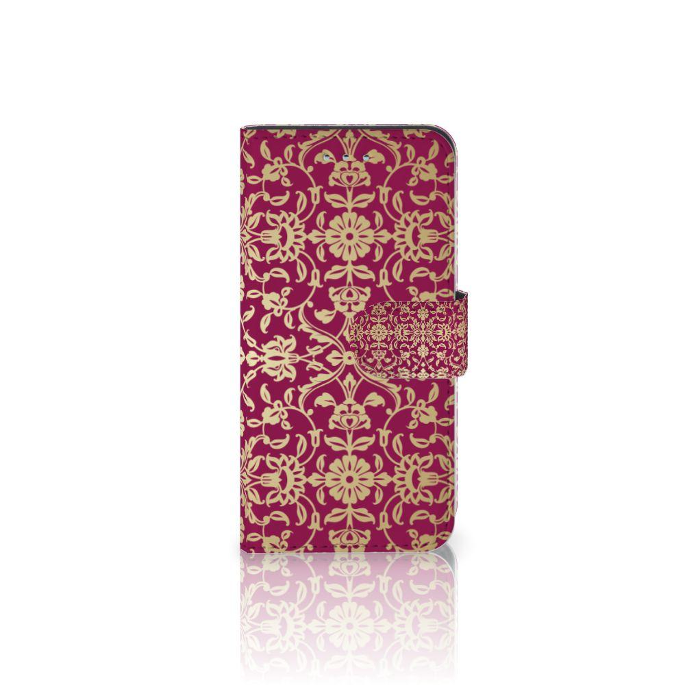 Samsung Galaxy S6 | S6 Duos Boekhoesje Design Barok Pink