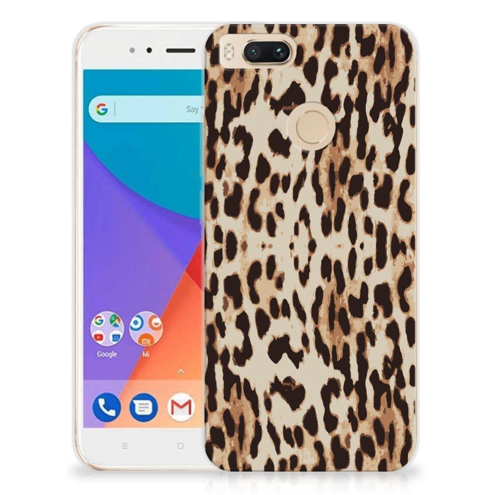Xiaomi Mi A1 TPU Hoesje Leopard