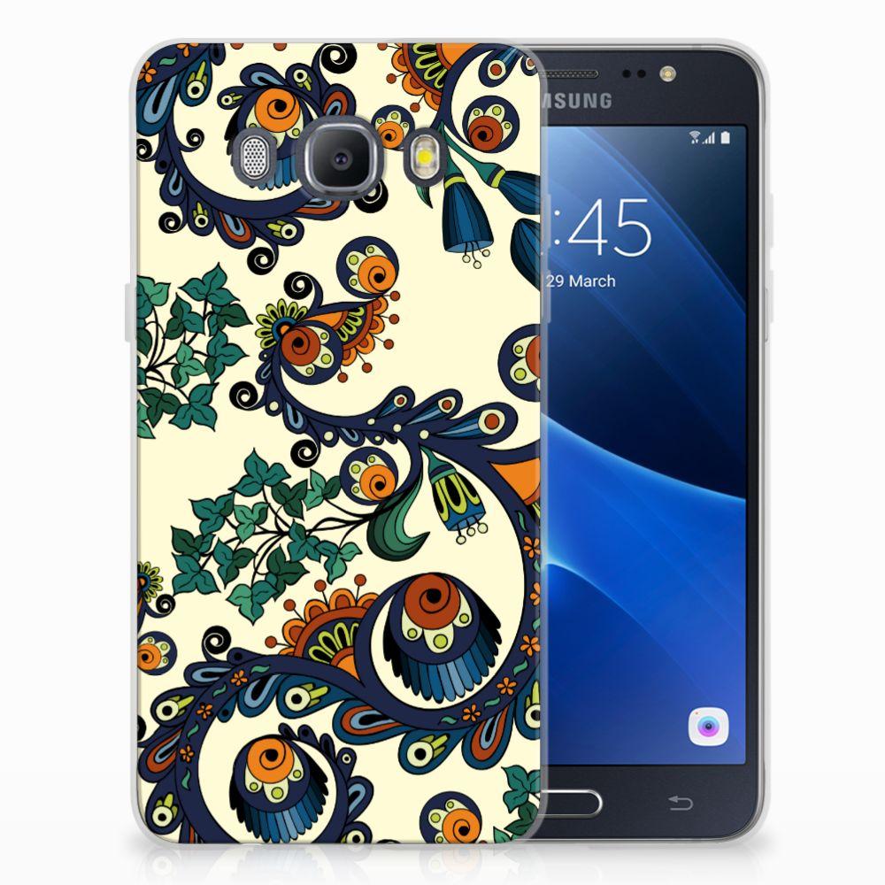 Siliconen Hoesje Samsung Galaxy J5 2016 Barok Flower