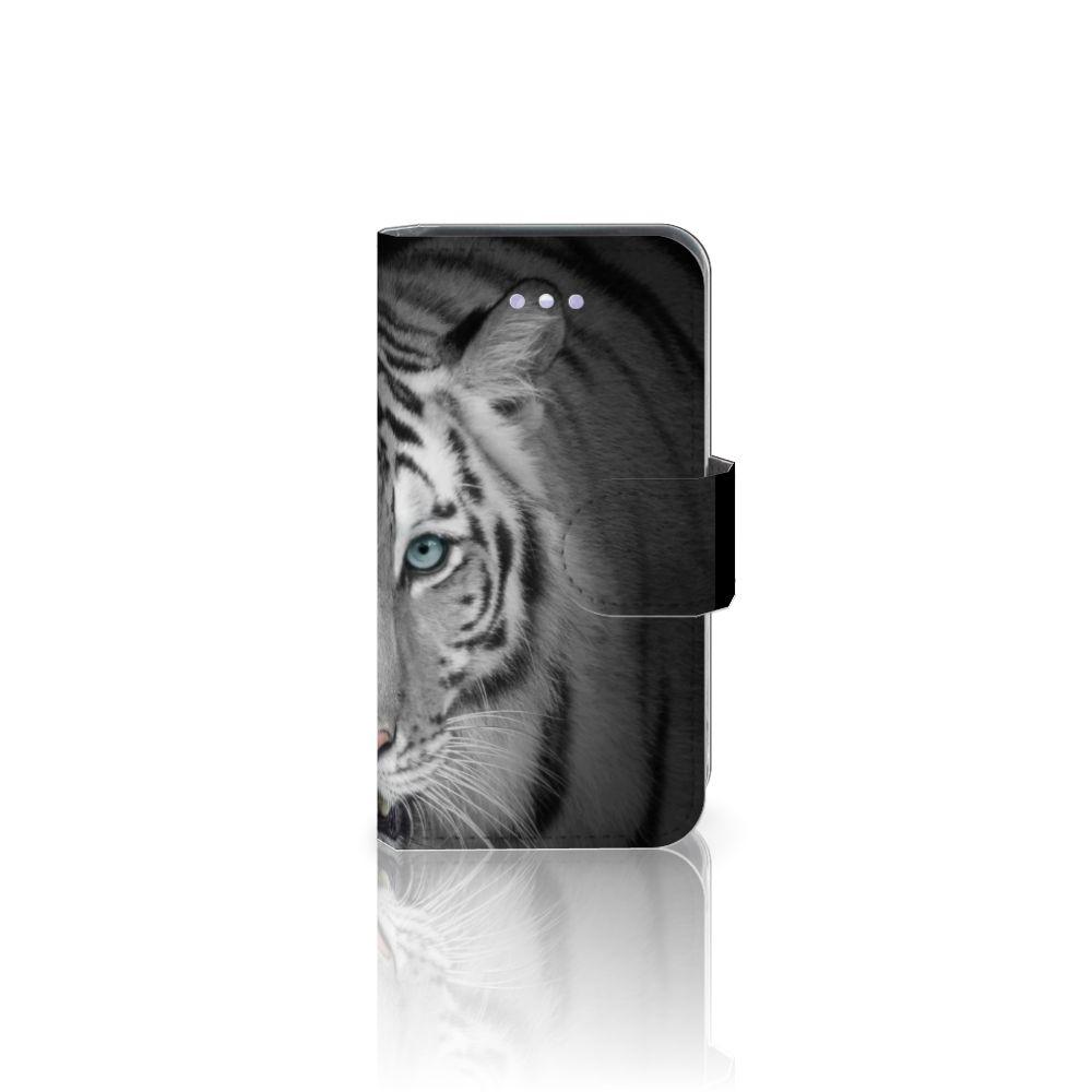 Apple iPhone 4 | 4S Telefoonhoesje met Pasjes Tijger