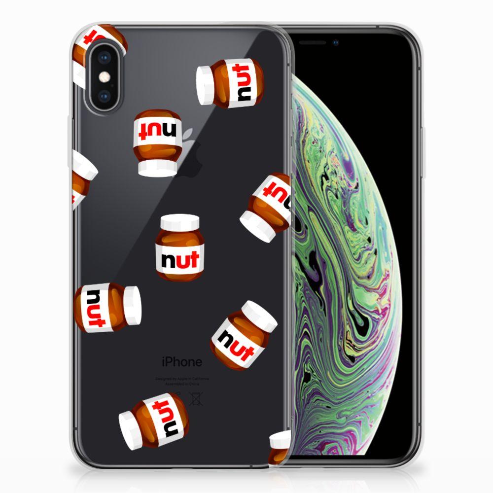 Apple iPhone Xs Max Siliconen Case Nut Jar