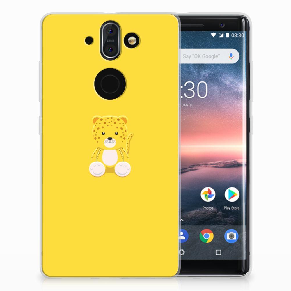 Nokia 9 | 8 Sirocco Uniek TPU Hoesje Baby Lepperd