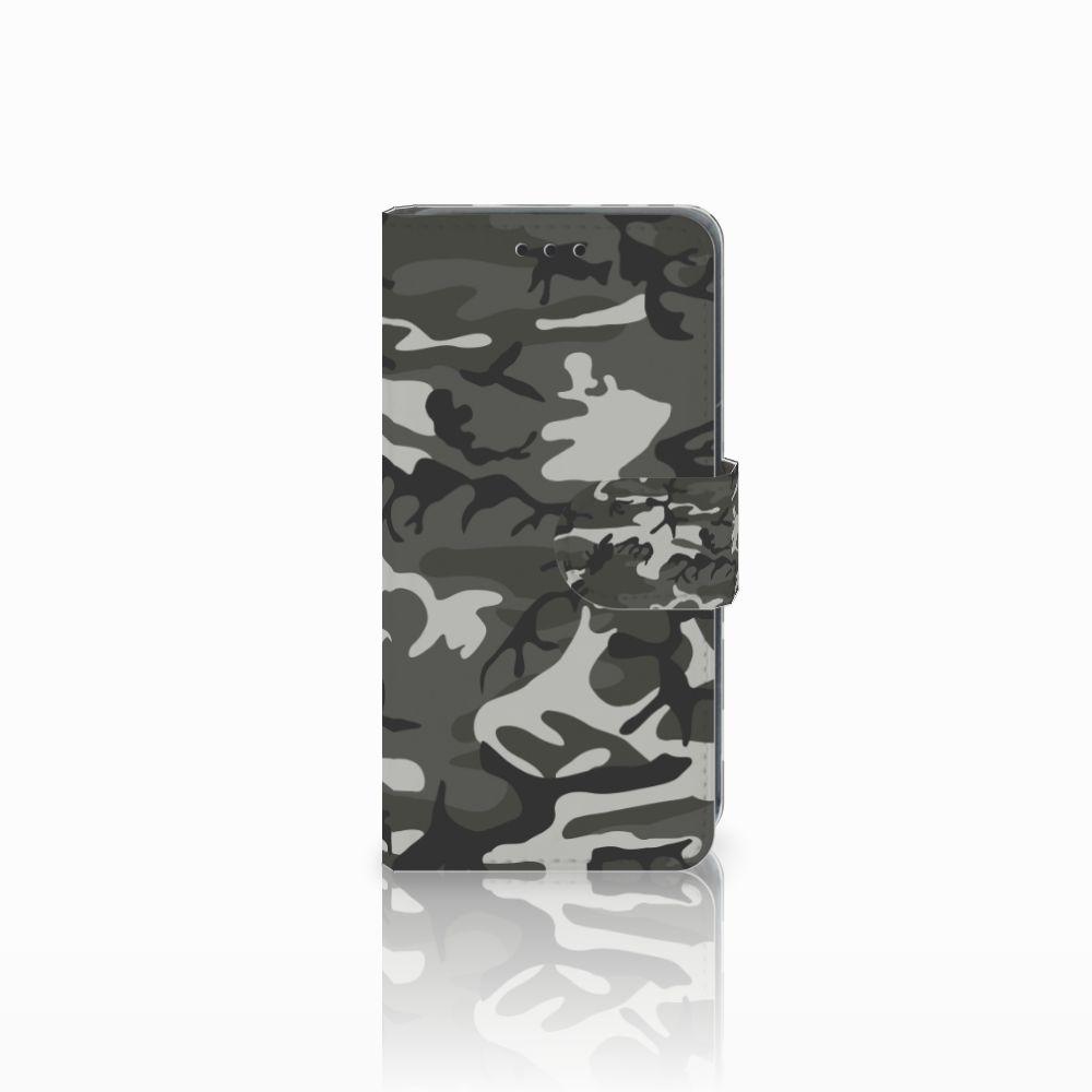 Nokia Lumia 630 Uniek Boekhoesje Army Light