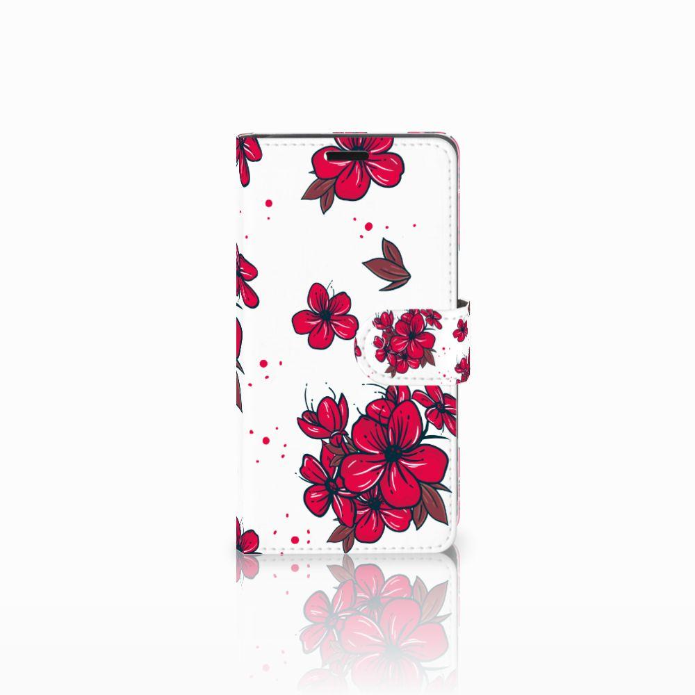 Lenovo C2 Power Boekhoesje Design Blossom Red
