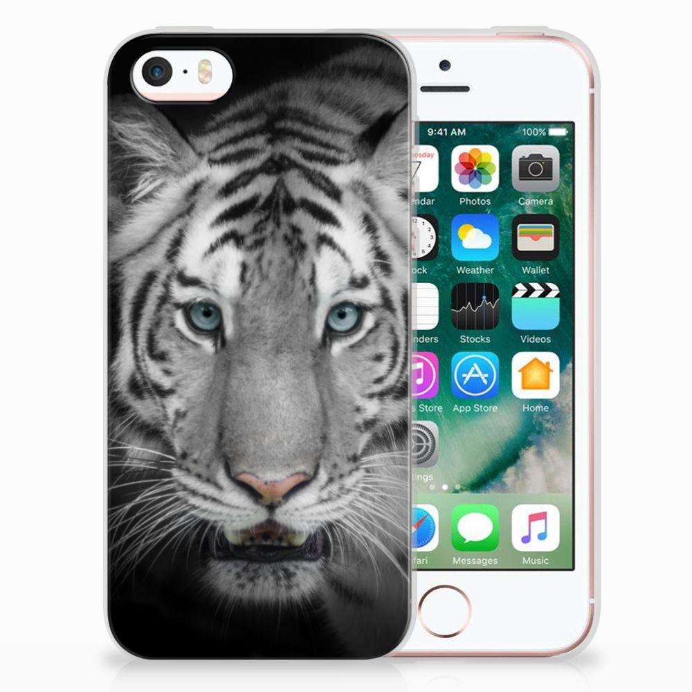 Apple iPhone SE | 5S Uniek TPU Hoesje Tijger