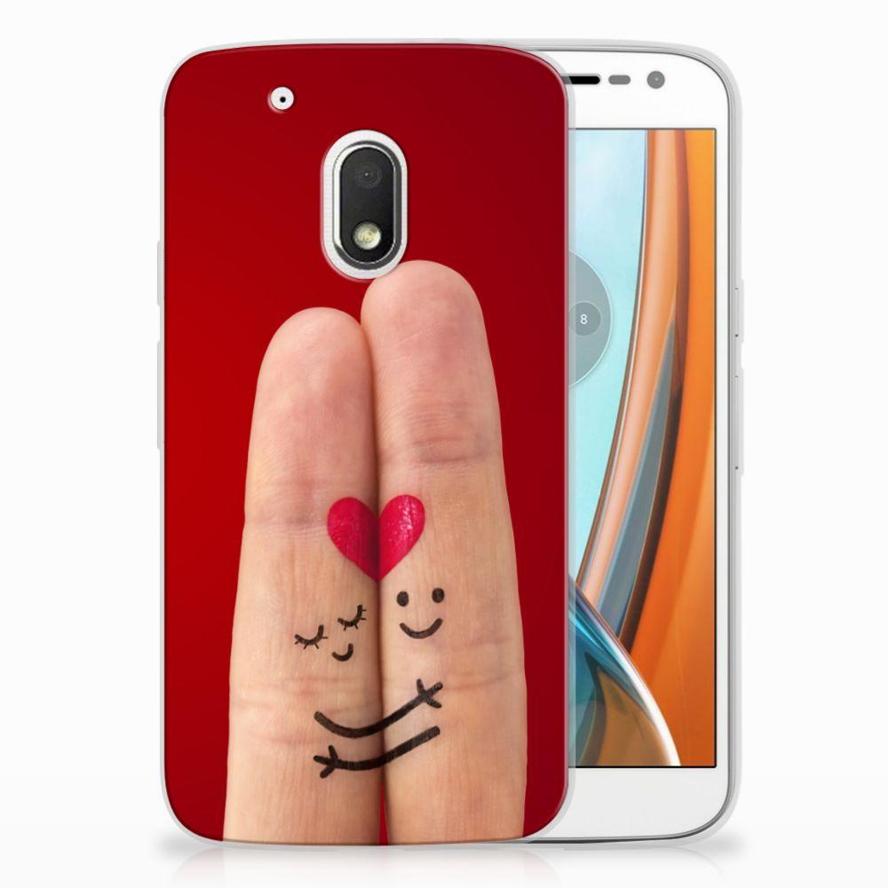 Motorola Moto G4 Play Uniek TPU Hoesje Liefde