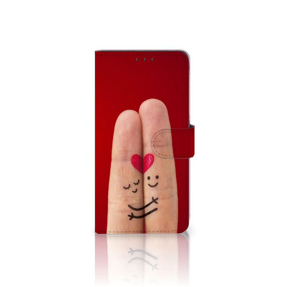 Samsung Galaxy A8 Plus (2018) Uniek Boekhoesje Liefde