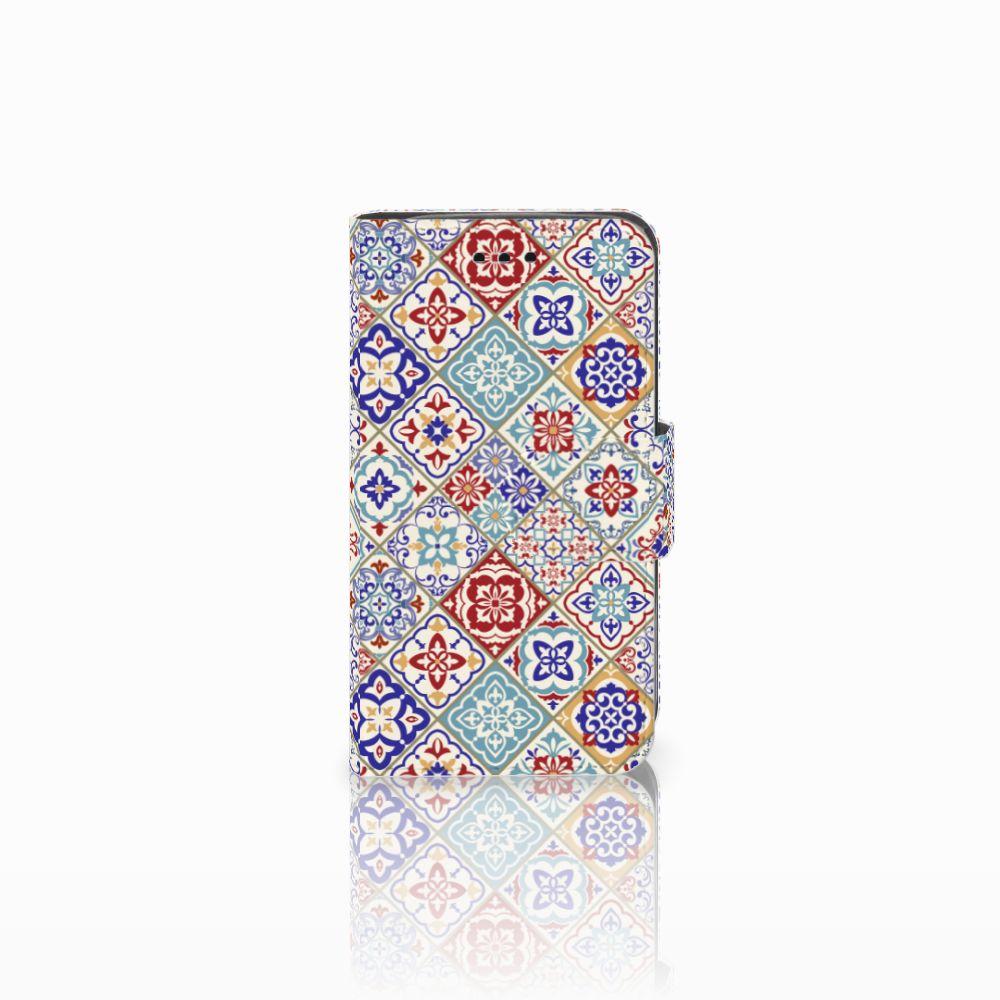 Samsung Galaxy Trend 2 Uniek Boekhoesje Tiles Color