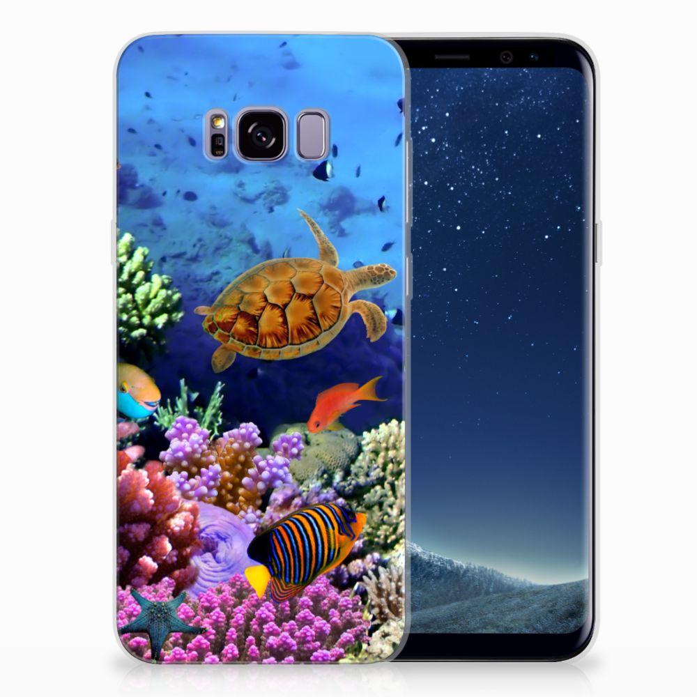 Samsung Galaxy S8 Plus TPU Hoesje Design Vissen