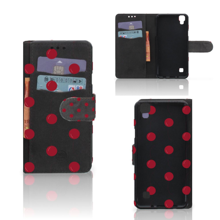 LG X Style Book Cover Cherries