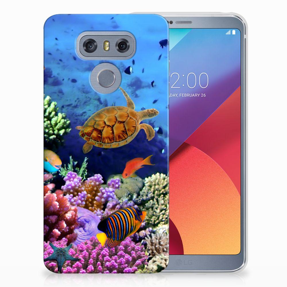 LG G6 TPU Hoesje Design Vissen