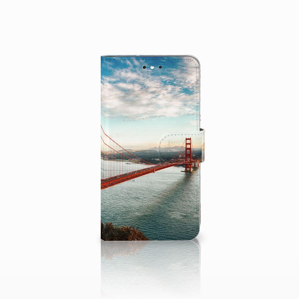 Motorola Moto G4 | G4 Plus Boekhoesje Design Golden Gate Bridge