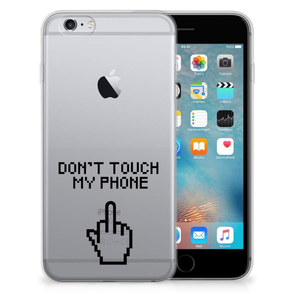 Apple iPhone 6 | 6s Silicone-hoesje Finger DTMP