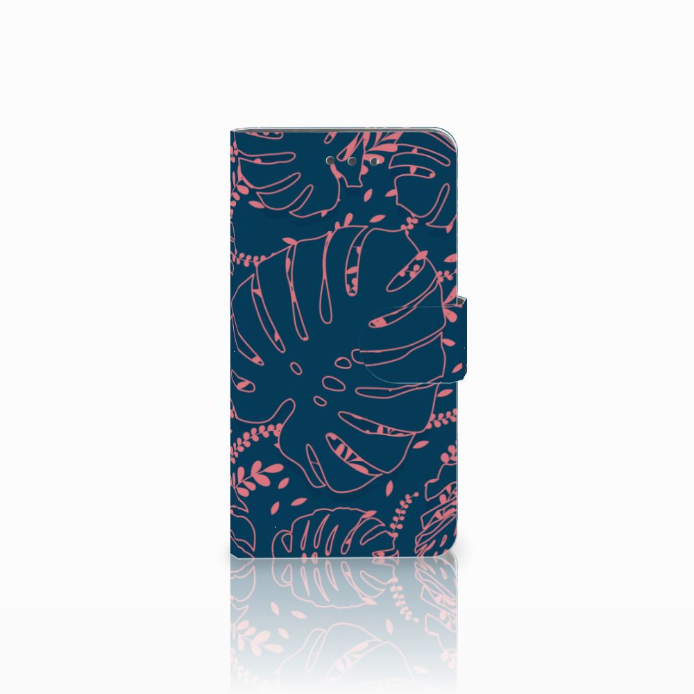 Wiko Fever (4G) Boekhoesje Design Palm Leaves