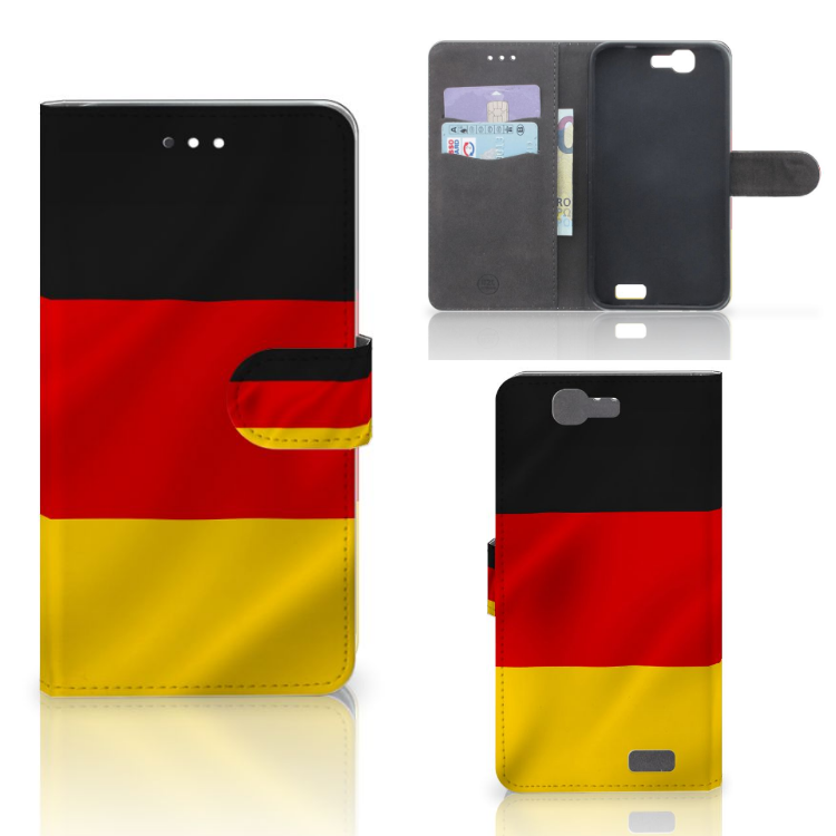 Huawei Ascend G7 Bookstyle Case Duitsland