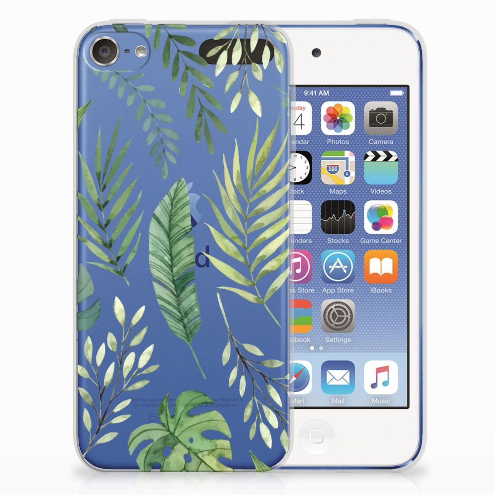 Apple iPod Touch 5 | 6 Uniek TPU Hoesje Leaves