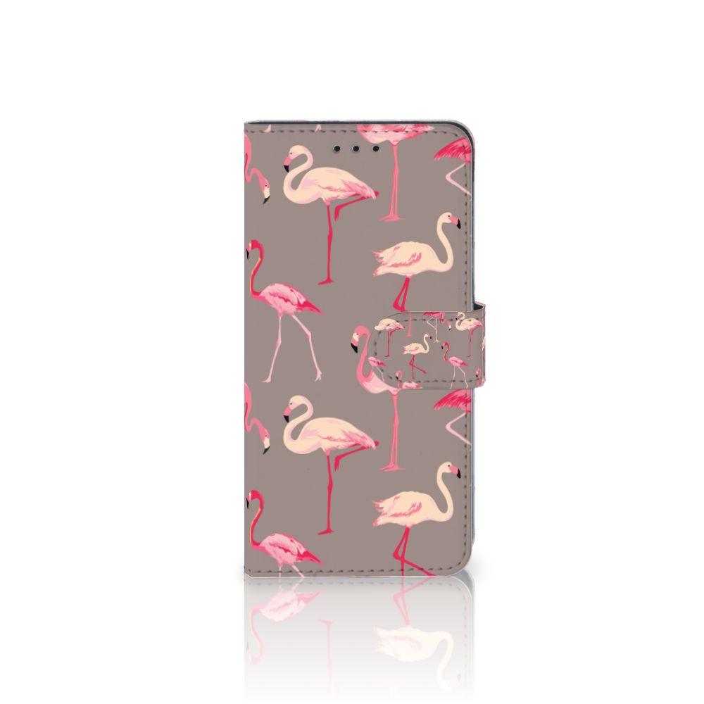 Huawei Mate 10 Pro Uniek Boekhoesje Flamingo