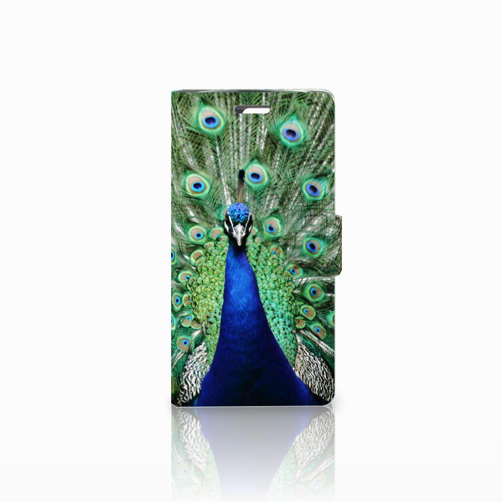 LG K10 2015 Boekhoesje Design Pauw