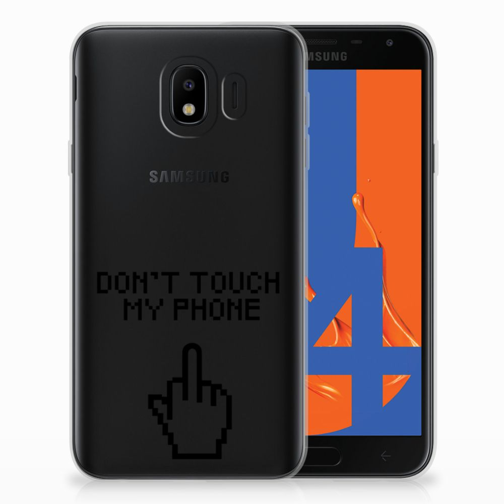 Samsung Galaxy J4 2018 Uniek TPU Hoesje Finger DTMP