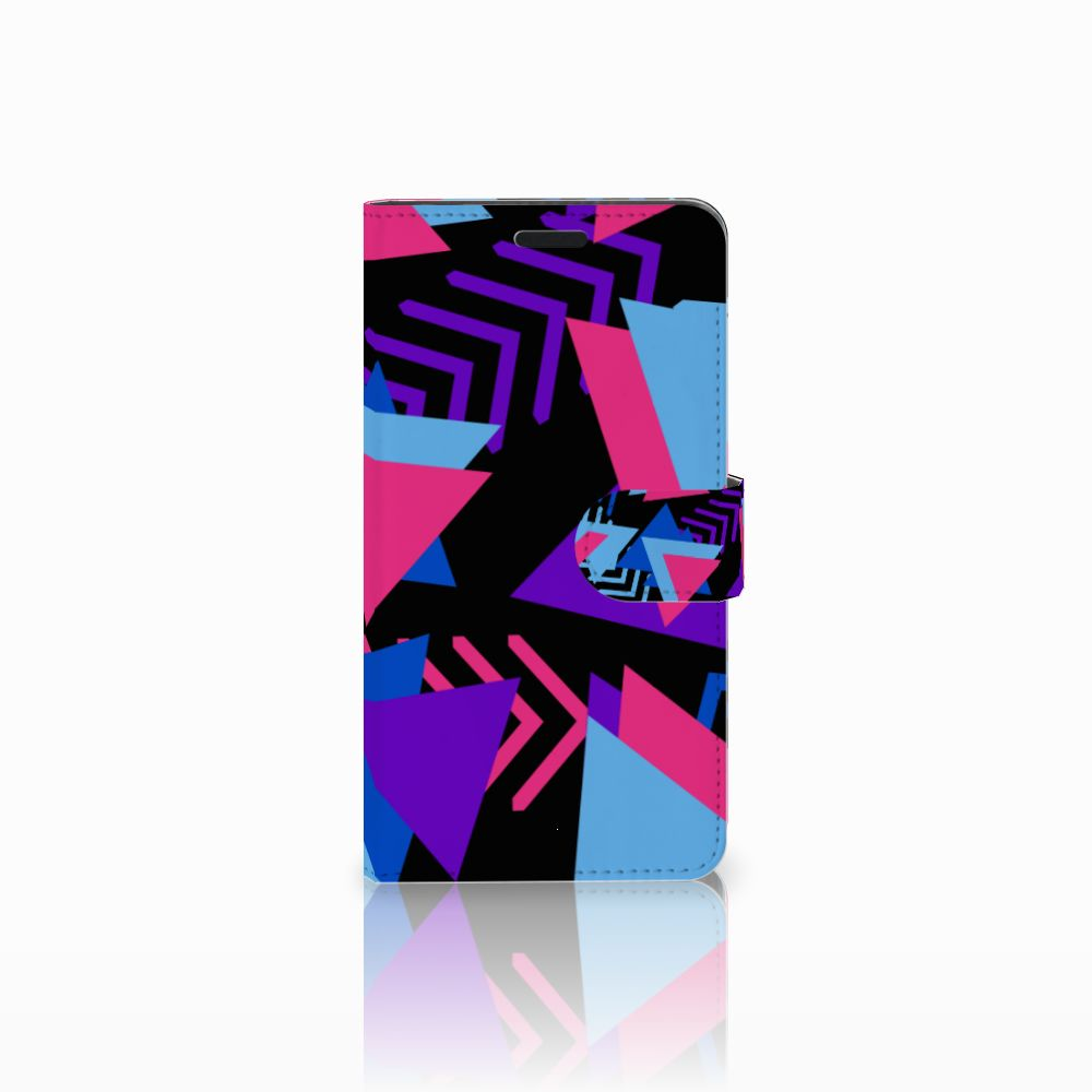Sony Xperia T3 Boekhoesje Design Funky Triangle