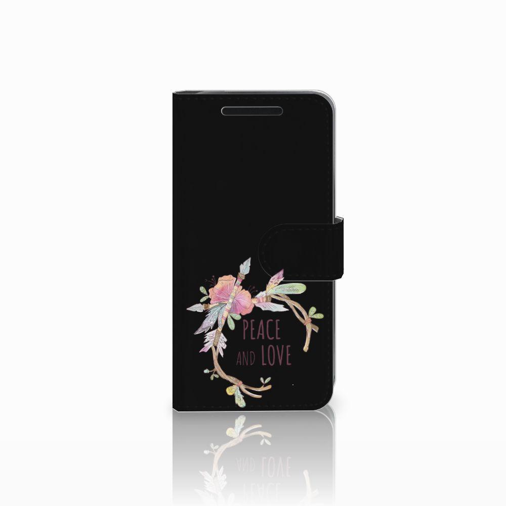 HTC One M9 Uniek Boekhoesje Boho Text