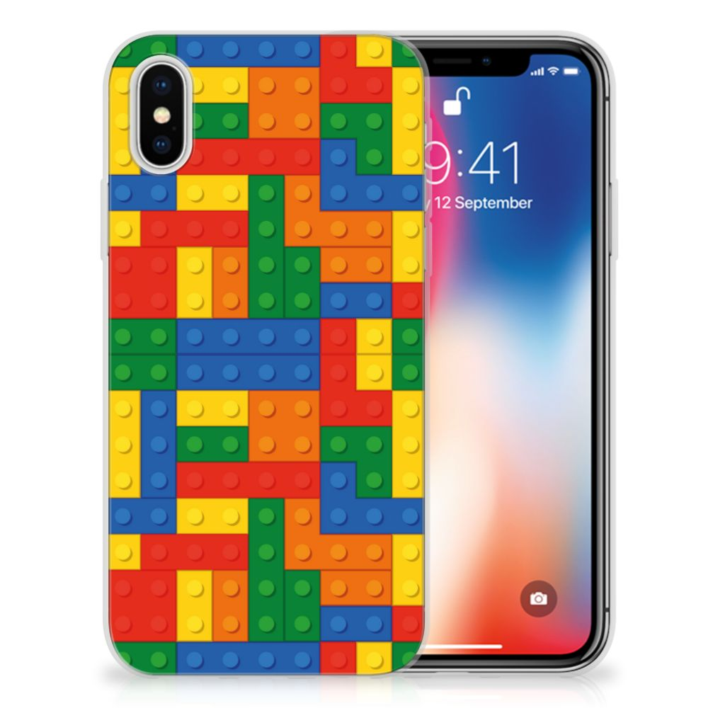 Apple iPhone X | Xs TPU bumper Blokken