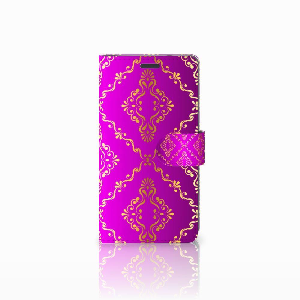 LG X Power Uniek Boekhoesje Barok Roze