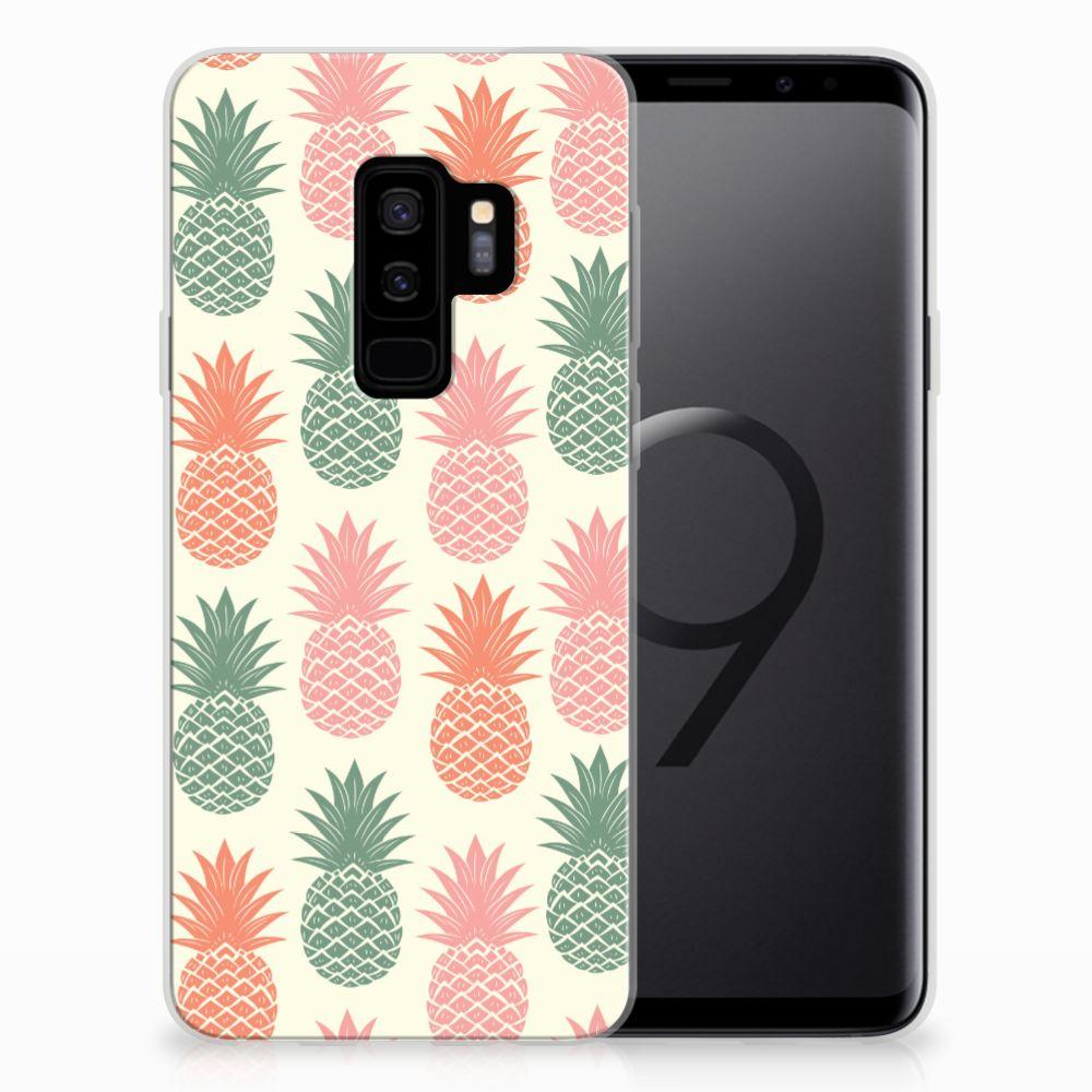 Samsung Galaxy S9 Plus Siliconen Case Ananas