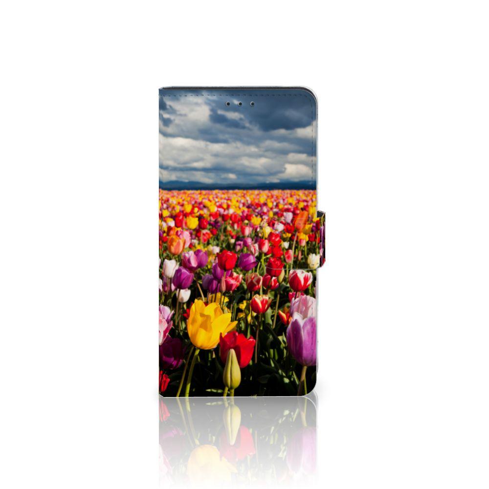 Samsung Galaxy A7 (2018) Uniek Boekhoesje Tulpen