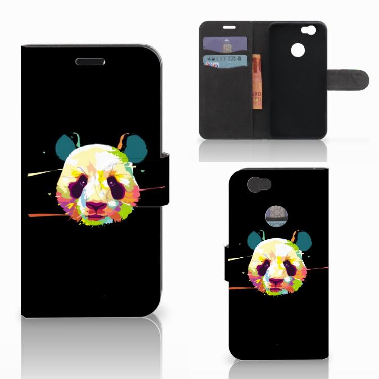 Huawei Nova Leuke Hoesje Panda Color