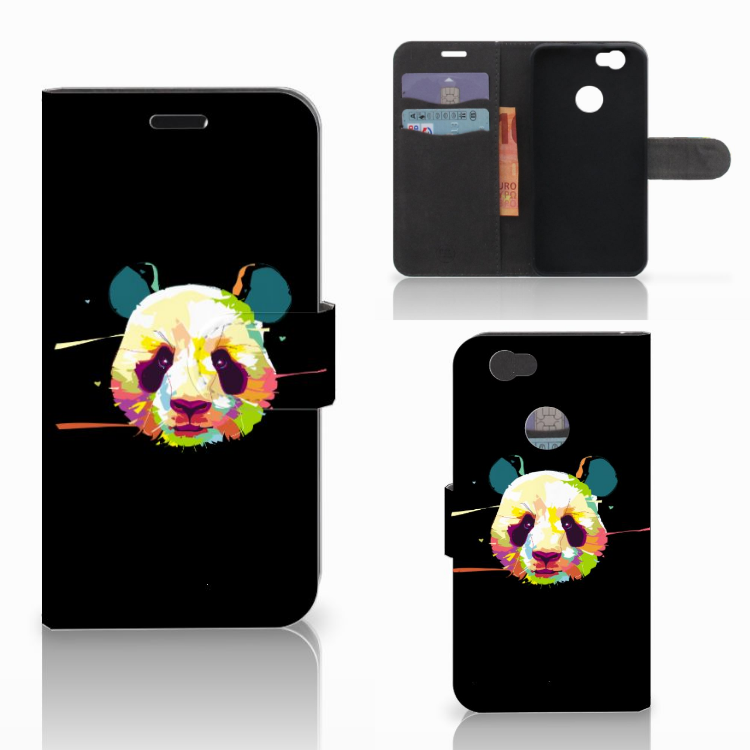 Huawei Nova Leuk Hoesje Panda Color