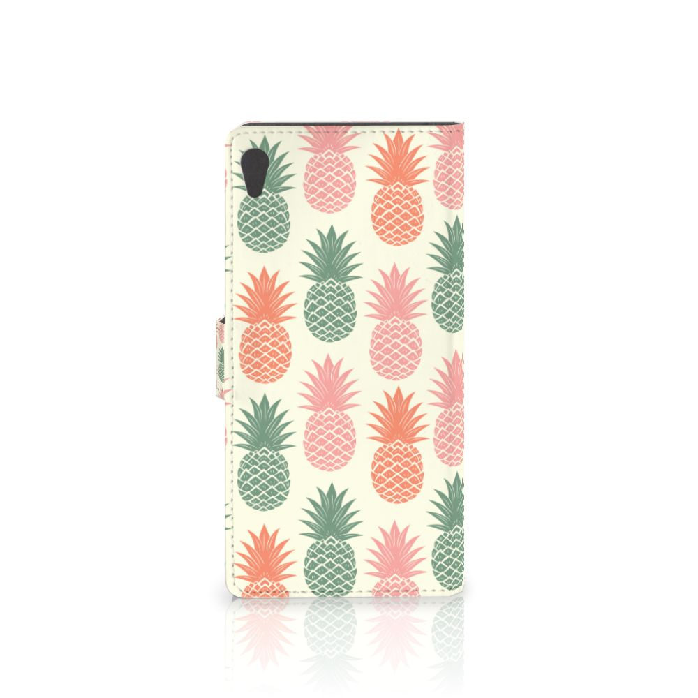 Sony Xperia XA Ultra Book Cover Ananas