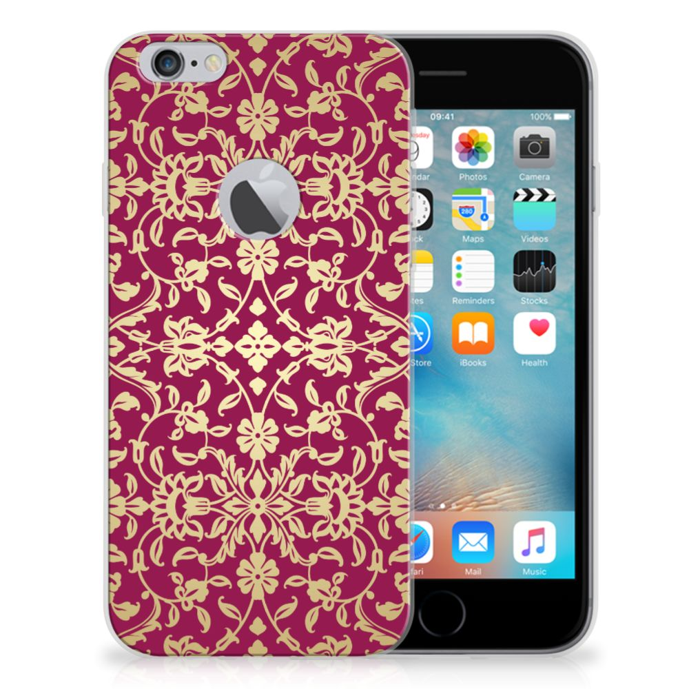Siliconen Hoesje Apple iPhone 6 Plus | 6s Plus Barok Pink