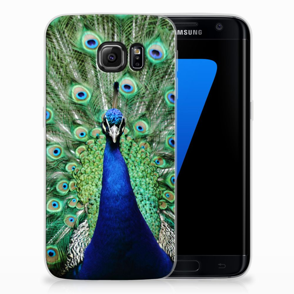 Samsung Galaxy S7 Edge TPU Hoesje Pauw