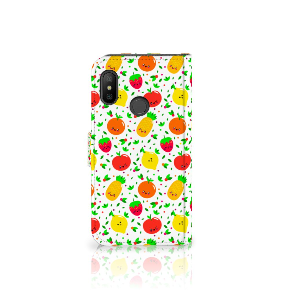 Xiaomi Mi A2 Lite Book Cover Fruits