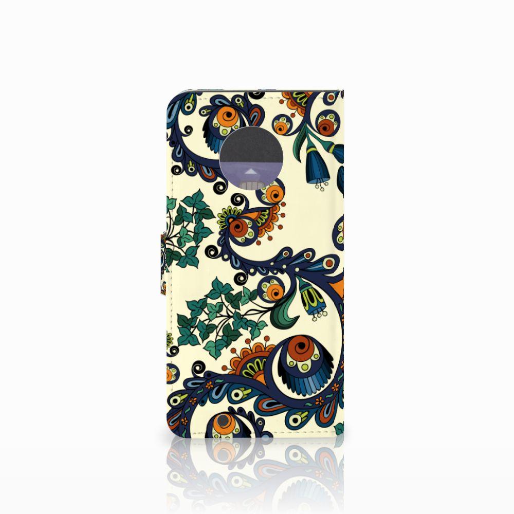Wallet Case Motorola Moto G6 Barok Flower