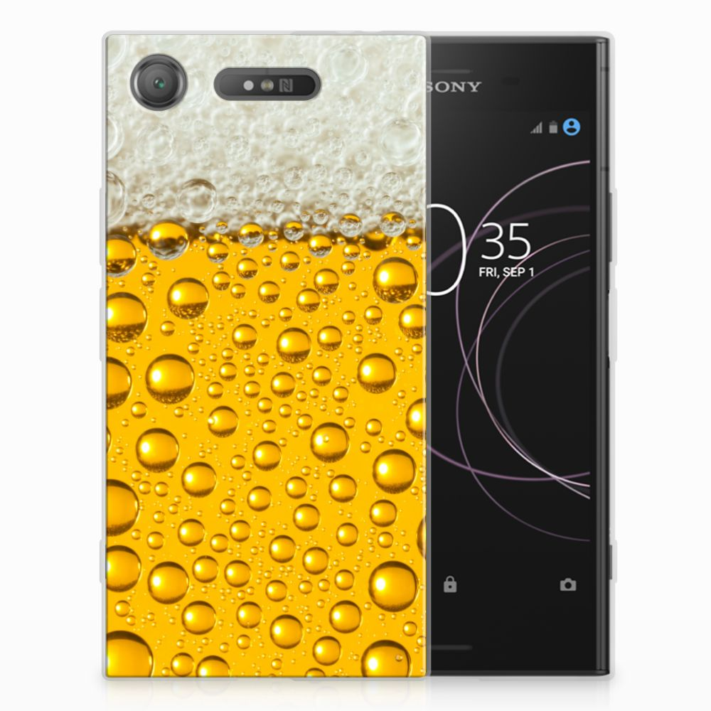 Sony Xperia XZ1 Siliconen Case Bier