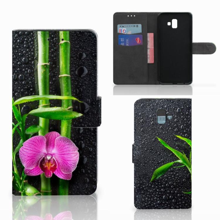 Samsung Galaxy J6 Plus (2018) Hoesje Orchidee
