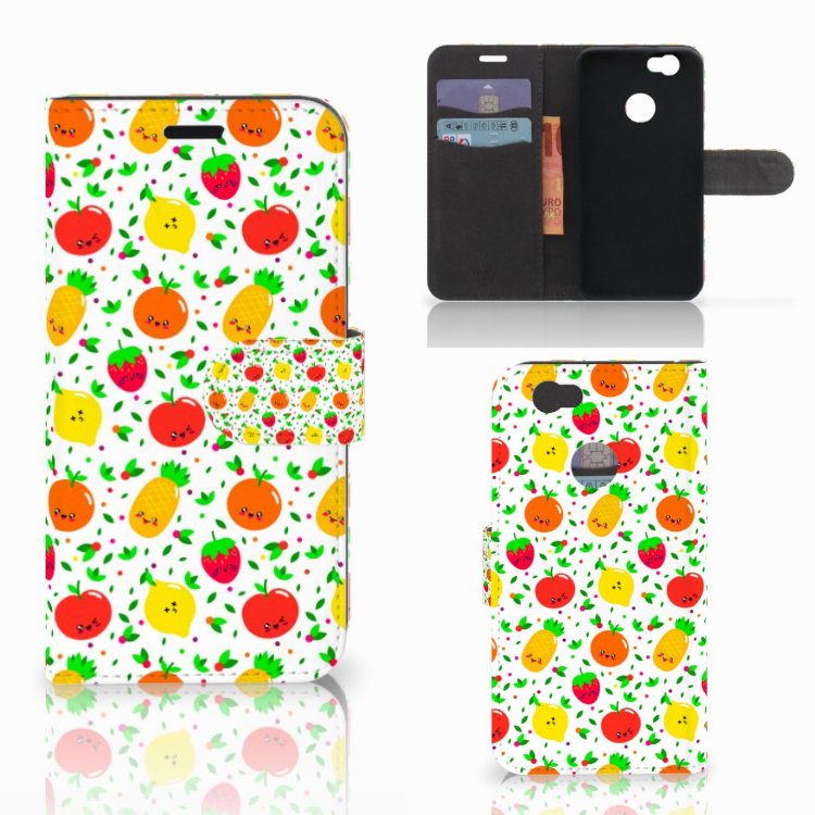 Huawei Nova Book Cover Fruits