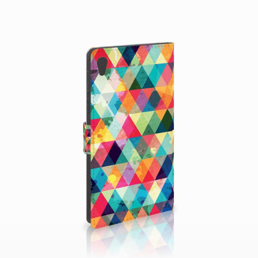 Sony Xperia XA Ultra Telefoon Hoesje Geruit