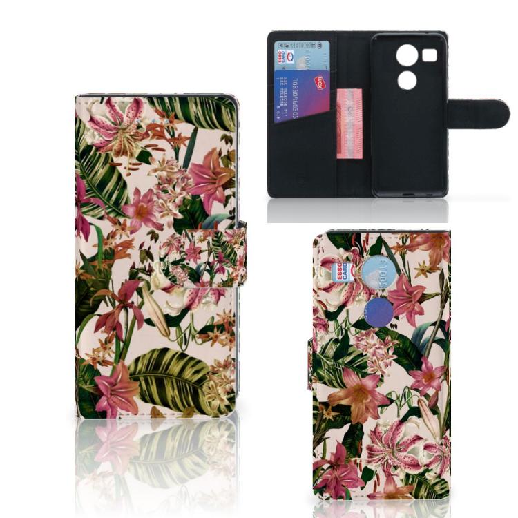 LG Nexus 5X Hoesje Flowers