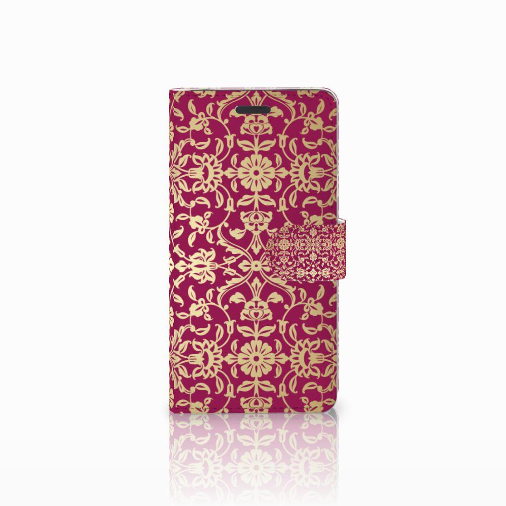 Samsung Galaxy Note 5 Boekhoesje Design Barok Pink