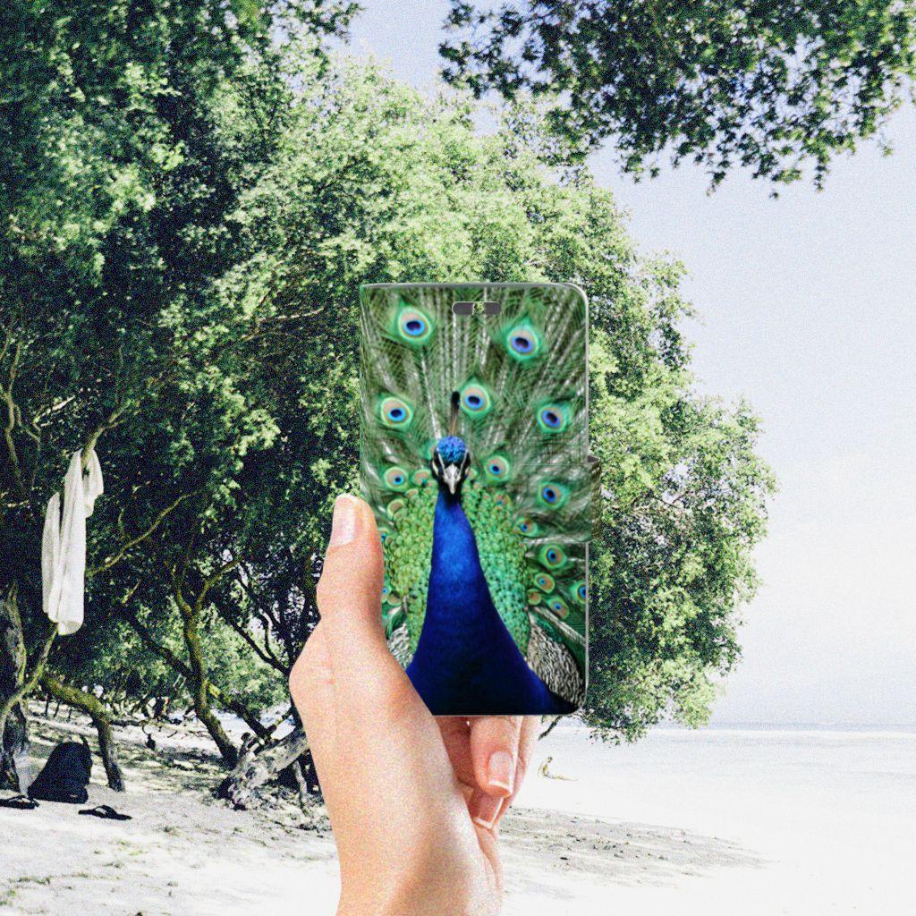 Huawei Y625 Telefoonhoesje met Pasjes Pauw