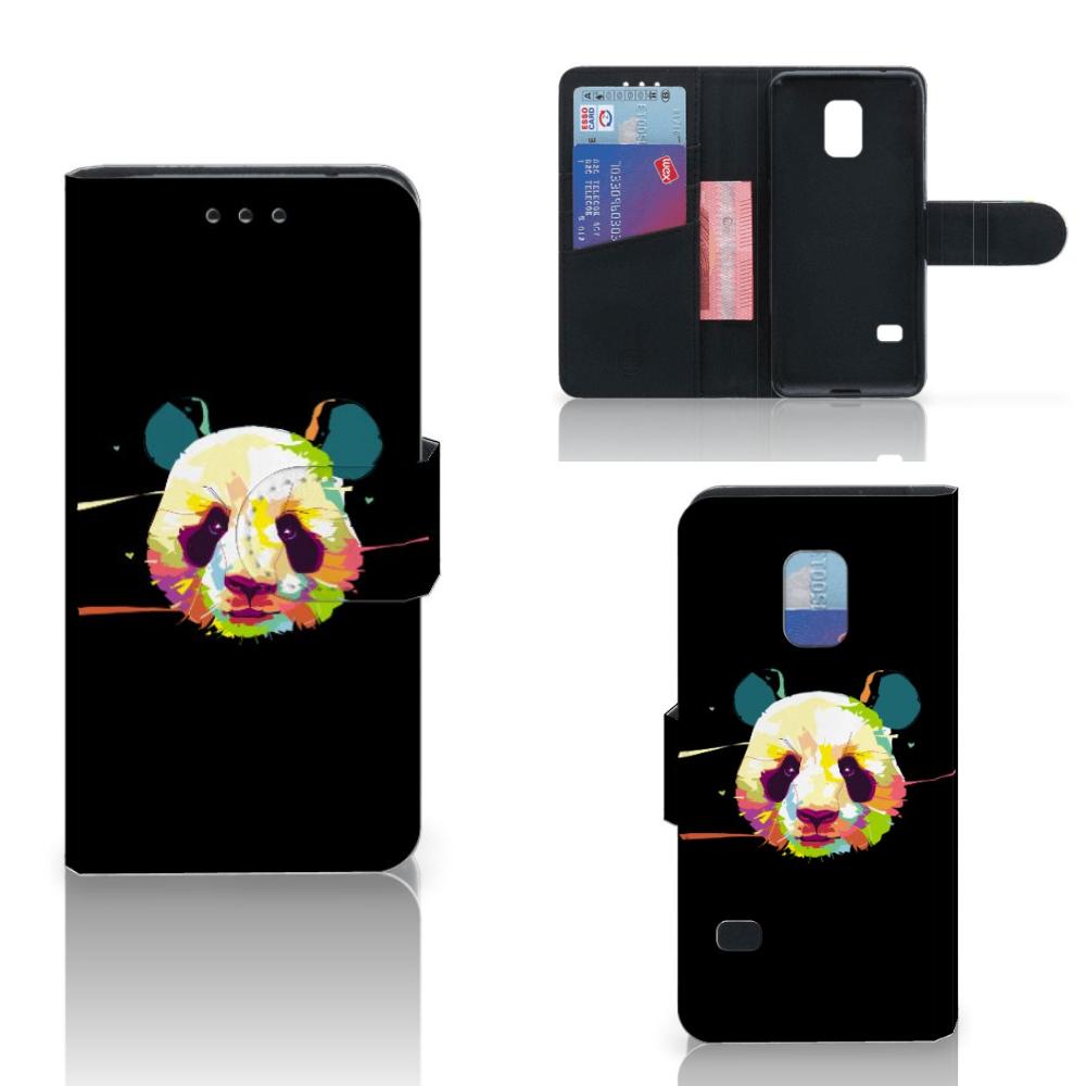Samsung Galaxy S5 Mini Leuke Hoesje Panda Color