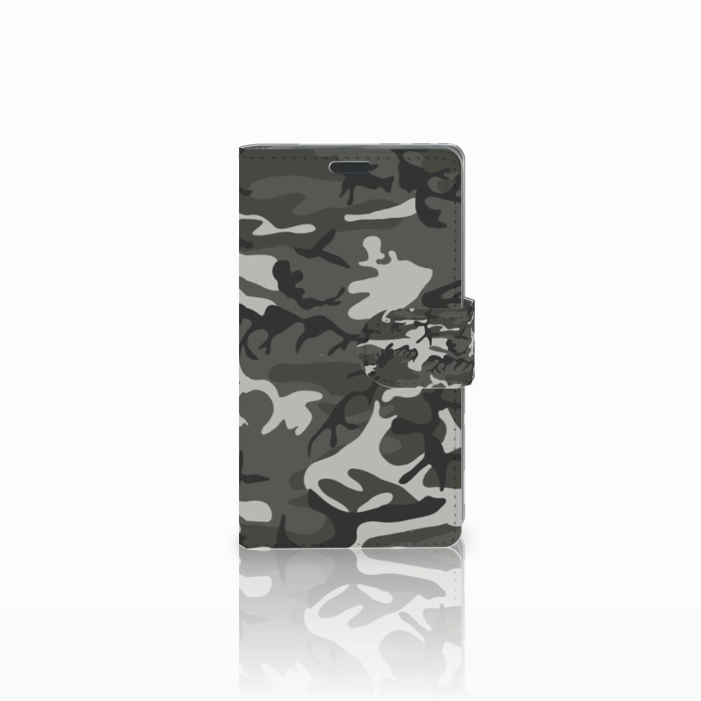 Nokia Lumia 625 Uniek Boekhoesje Army Light