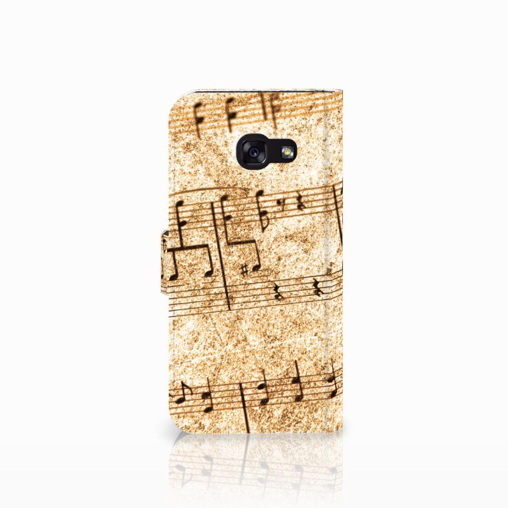 Samsung Galaxy A5 2017 Telefoonhoesje met foto Bladmuziek